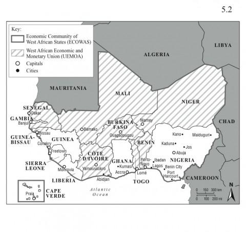 West African Regional Organizations