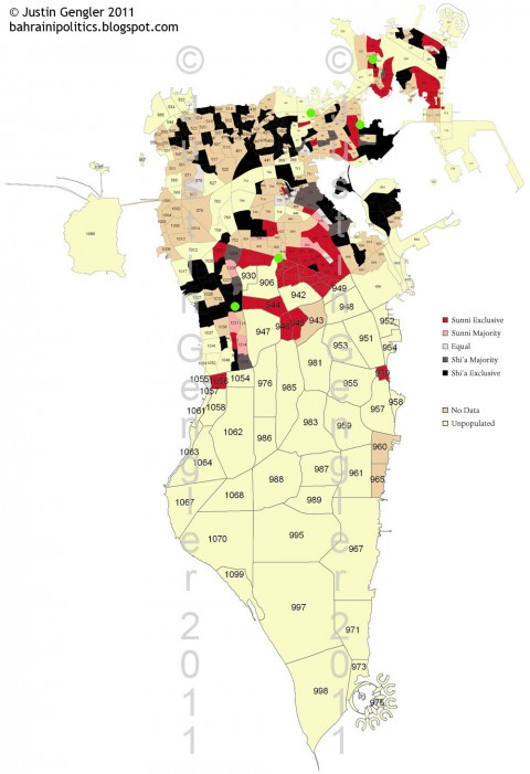 Bahrain Shiite Sunni Divide