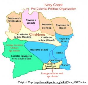 Côte d'Ivoire Ivory Coast Precolonial Political Organization