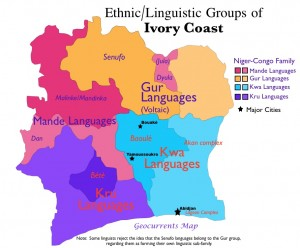 Cote d'Ivoire Ethnic Groups