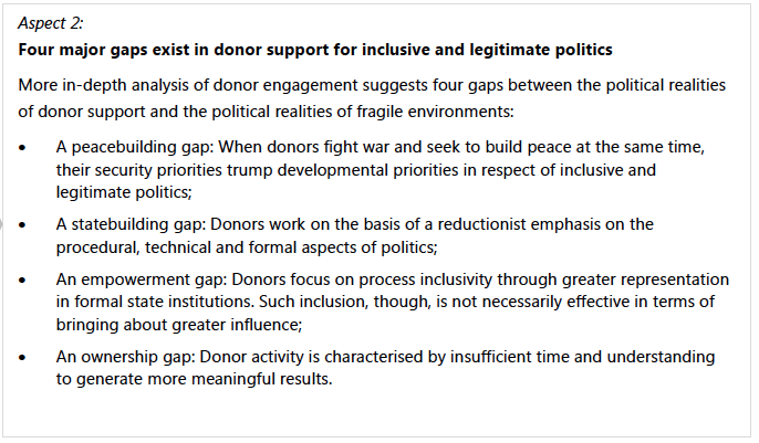 OECD Report New Deal Donor Constraints 2