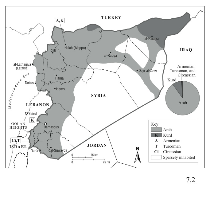 Syria's Ethnic and Religious Divisions