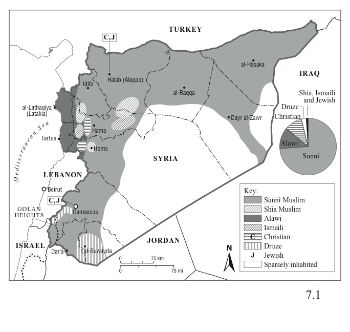 Syrias Ethnic and Religious Divisions