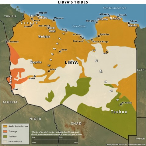 Libya's Ethnic and Tribal Groups