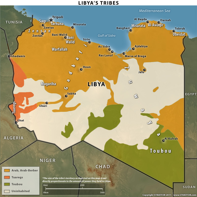 Libya's Ethnic and Tribal Groups in a Political Settlement