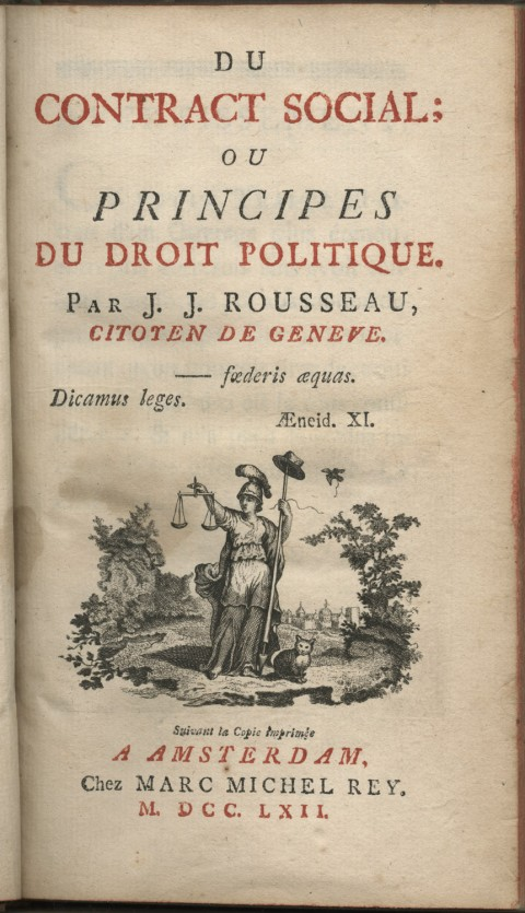 rousseau the social contract essay