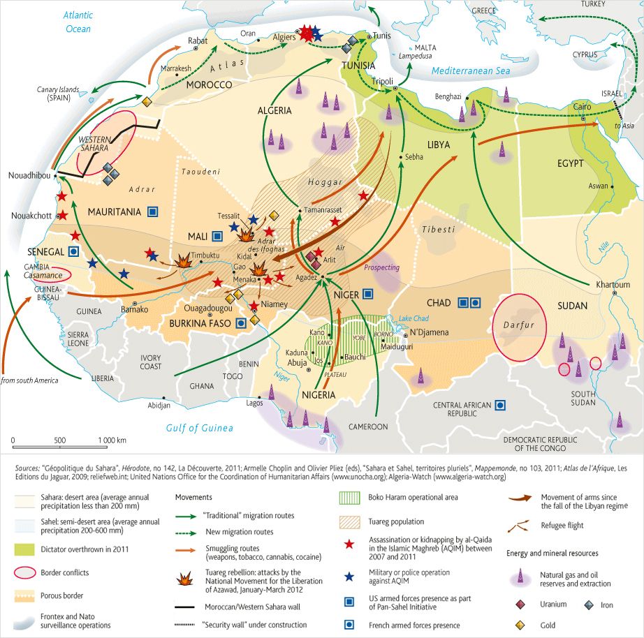 Libya Spillover Mapping Northern Africas Growing Chaos